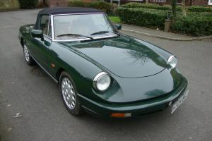 1991 ALFA ROMEO SPIDER S4. IMMACULATE CONDITION