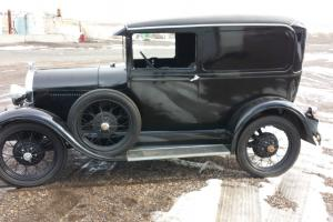 1929 Ford Sedan Delivery rare and in excellent condition.