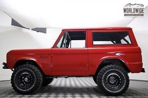 1966 FORD BRONCO! V8! COMPLETELY RESTORED!! CUSTOMIZED AND SHOW READY!
