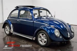 1963 Volkswagen Beetle Rag Top 4cyl VW Air Cooled 4 Speed Manual CHECK THIS OUT