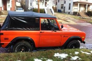 1975 ford bronco sport v8 daily driver very reliable very clean no rust