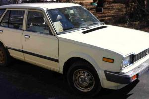 1983 Honda Civic Wagon - Use it every day - Needs brake work and a spare tire
