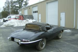 1963 Jaguar Series I 3.8 Liter E-type Roadster Photo