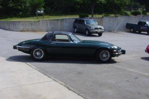 1974 Jaguar E-Type Series III V-12 Roadster