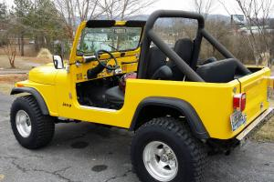 1984 Jeep CJ7 Full Soft Top With Full Soft Doors   NO RESERVE