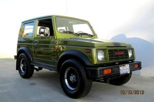 "1986 Suzuki Samurai 4x4 HARDTOP ""Mini Hummer"" Jeep Award Winner Totally Restored"