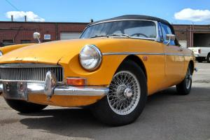 Fantastic Dry Colorado MGB Photo