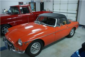 1972 MGB Convertible Roadster 1.8 4 cyl. 4 speed Good Driver Quality Fun Car