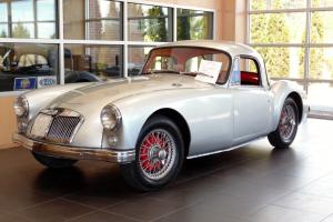 1957 MGA Coupe with New Paint..New Leather interior and Carpet