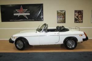 1975 MG Convertible 2-Door
