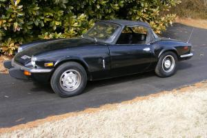1976 triumph spitfire 1500 Convertible  RUNS AND DRIVES GREAT  Classic MG