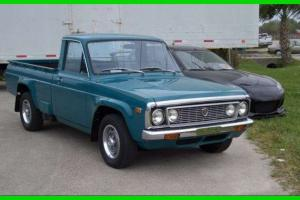 1975 Mazda REPU Show Truck 1.3L 13B Rotary Engine Gasoline Manual FLORIDA