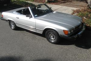 SUPERBLY MAINTAINED 1978 MERCEDES CONVERTIBLE 450SL 73K ORIGINAL MILES GORGOEUS!
