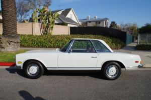 280SL WITH 59K ORIGINAL MILES-RUST & ACCIDENT FREE-SERVICE RECORDS-FEW FINER