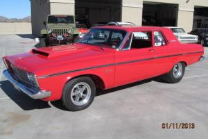 1963 plymouth belvedere  fx keith black 472 cu in 780 hp all aluminum frame off