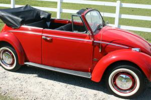BEAUTIFULLY RESTORED CLASSIC BEETLE, ONLY 62k MILES! Watch Video