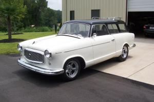 1960 AMC Rambler American 2-Door Wagon-Very Nice Car!