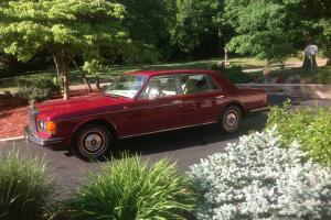 1987 Rolls Royce, Silver spur, merlot in color with beautiful light tan interior