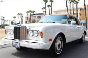 '89 Corniche, 24k miles, B.H owner, all records, Immaculate Photo