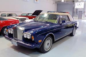 Rolls Royce Corniche II Convertible Photo