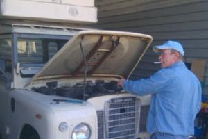 1978 Land Rover Series III 2.25 DIESEL 88 - Project Photo