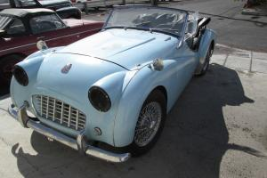 1957 TRIUMPH TR3A Photo