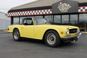 1970 TRIUMPH TR-6 CONVERTIBLE THE BEST DEAL ON EBAY!!! Photo