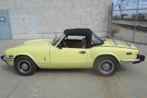 1975 Triumph Spitfire 2D Roadster Stk#230667, NO RESERVE Photo