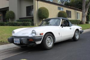1979 Triumph Spitfire Convertible, Gorgeous Low Mileage California Car overdrive