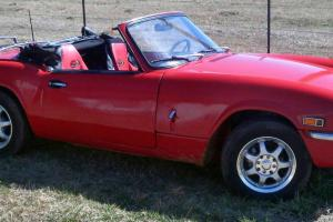 1972 Triumph Spitfire with RARE clean and clear title!! 1500cc  16k MILES! Photo
