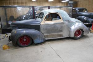 Steel Willys Coupe Deluxe Trim