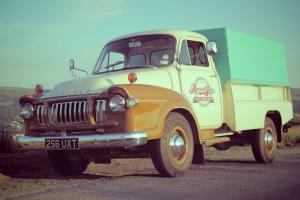 VINTAGE 1960 BEDFORD J1 PICKUP TRUCK (PERFECT CONDITION)