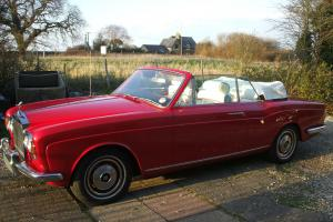 ROLLS ROYCE CORNICHE CONVERTIBLE, SHADOW DROPHEAD