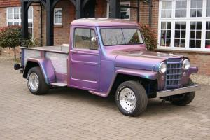 1952 Willys Jeep American customised Hot Rod / pro street - UNIQUE