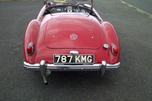 1957 MGA Roadster Series 1 1500cc engine 787KMG Photo
