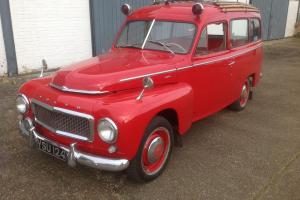 1958 VOLVO 445 DUETT..ex Swedish Fire Brigade..THE ONLY ONE YOU WILL EVER SEE.