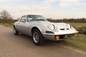 1971 OPEL GT 1900 Manual, tax exempt.