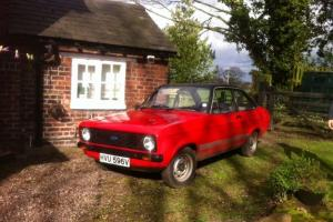 FORD ESCORT MK2 2 DOOR 1300 POP PLUS VENETIAN RED