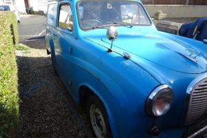 Austin A35 van rare barn find, easy project complete with loads of bits