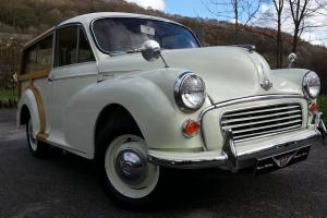 1968 Morris Minor traveller, Newly Refurbished, new wood stunning condition