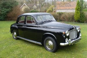 ROVER P4 110 SALOON 1964 4 SPEED MANUAL WITH O/DRIVE