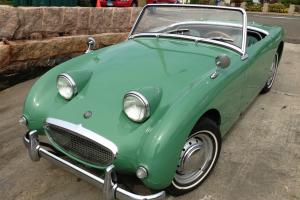 1960 Austin Healey Bugeye Sprite< 31K VERIFIED miles! Orig eng, new paint VIDEO!
