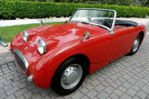 RARE 1960 AUSTIN HEALEY BUGEYE SPRITE, RUNS AND LOOKS GREAT, SOLID, LO RESERVE! Photo