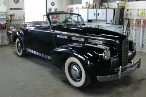 1940 LaSalle convertible coupe model 40-5067 roadster Cadillac RARE CAR !!!!!!!! Photo
