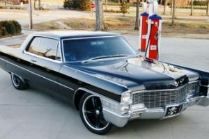 FS/FT 1965 CADILLAC COUPE DeVille - BLACK & SINISTER - 73K MILES - SHOW QUALITY