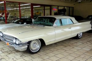 1962 Cadillac 62 series, 1 owner, 36,000 original miles, documented