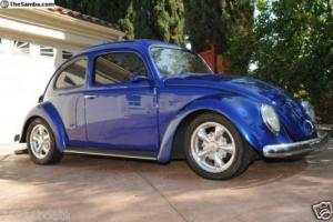 1960 Ragtop VW Bug All Custom, Like a brand new car super clean!