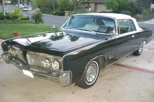 "1964 Imperial Convertible with Factory AC. ""REFRESHED ORIGINAL"""