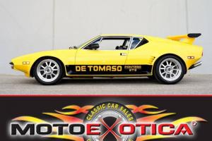 1973 DE TOMASO PANTERA GT5-STEEL BODY-CALIFORNIA CAR-FORD V8- NO RESERVE LQQK !!