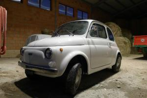 1974 FIAT 500 R Completely Overhauled! 595cc Engine. Hard and soft SUNROOF!